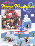 Winter Wonderland Plastic Canvas Booklet