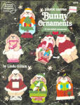 Plastic Canvas Bunny Rabbit Christmas Ornaments
