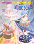 Plastic Canvas Classic Music Boxes