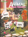 Plastic Canvas Animal House Numbers