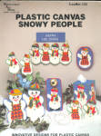 Plastic Canvas Snowy People Snowman Designs