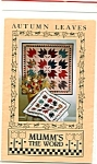 Debbie Mumm - Autumn Leaves Wall Hanging Pattern