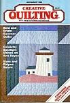 2 Issues Of Vintage Creative Quilting Magazine
