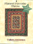Thimbleberries Flannel Favorite Throw