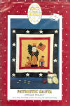 Patriotic Santa Applique' Project Pattern