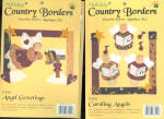 Holiday Country Borders Iron On Appliques New
