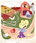 Farm Scene Childs Playschool Puzzle