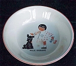 Childrens Cereal Bowl Little Girl And Scotty Scottie Dog