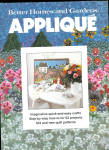 Better Homes And Gardens Applique' Book