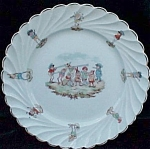 Palmer Cox Brownies Childrens German Character Plate