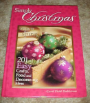 Simply Cristmas New Craft Book