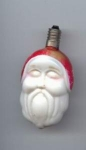 Old Santa Head Christmas Tree Light