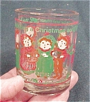 1985 Christmas Shot Glass