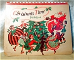 1949 Christmas Time In Action Pop-up Book