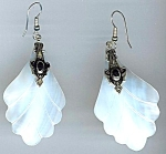 1980's New Old Store Stock Mother Of Pearl Earrings
