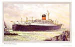 Rms Ivernia 1955 Historical Advertising Log Card