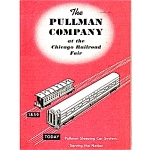 1948 Pullman Railroad Advertsing Booklet