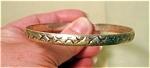 Mexican Sterling Bangle Bracelet