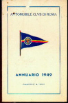 Automobile Club Di Roma Annuario 1949 Map