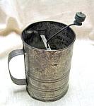 Vintage Airway Hand Triple Flour Sifter