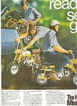 1969 Hona Mini Trail Bike - Ad Sheet