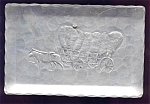 Embossed Aluminum Tip Tray - Ox Cart