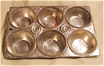Child's Size Chromed Muffin Tin
