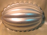 Fluted Bombe Style Jello Mold 2 1/2 Cups