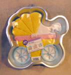New, Never Used Wilton Baby Buggy Cake Pan
