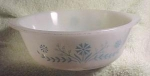 Glasbake, 2 Quart Mixing Bowl, Casserole Dish