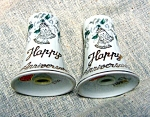 Lefton Happy Anniversary Salt And Pepper Shakers