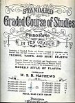 1892 Standard Graded Course Of Studies Music Book