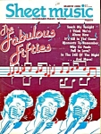 Sheet Music Magazine The Fabulous Fifties