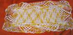 Antique Mint Condition Hand Crocheted Dresser Scarf