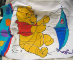 Winnie The Pooh And Tigger Vintage Pillowcase