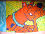 Vintage Scooby Doo Pillowcase