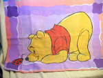Vintage Winnie The Pooh And Tigger Pillow Case