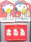 8 Unused Vintage Snoopy And Woodstock Valentines