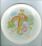 Old Deka Care Bears Plastic Plate