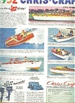 1952 Chris-craft Ad Sheet