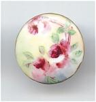 Handpainted Porcelain Cuff Stud
