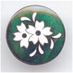 Newer Enamel Flower Button