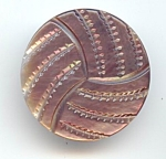 Large Carved Grey Pearl Button