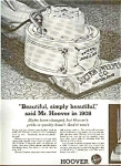 1963 Hoover Sweeper Ad Sheet