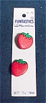Mint On Card Realistic Plastic Strawberry But