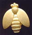 Golden Metal Fly Button