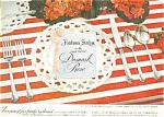 Heirloom Sterling - Damask Rose Ad Sheet