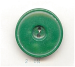 1950's Green Moonglow Plastic Buttons