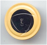 Art Deco Design Molded Celluloid Button
