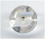 Molded Clear Lucite Button